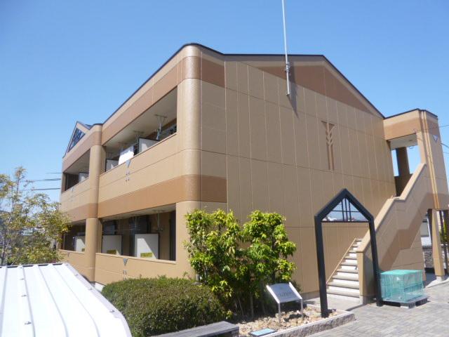 愛知県豊田市、若林駅徒歩10分の築11年 2階建の賃貸アパート