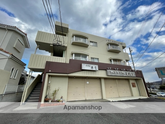愛知県豊田市、三河豊田駅徒歩28分の築30年 3階建の賃貸マンション