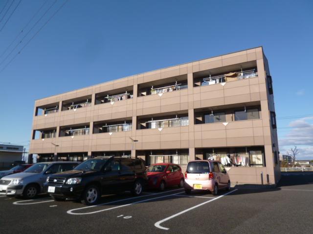 愛知県豊田市、土橋駅徒歩18分の築12年 3階建の賃貸アパート