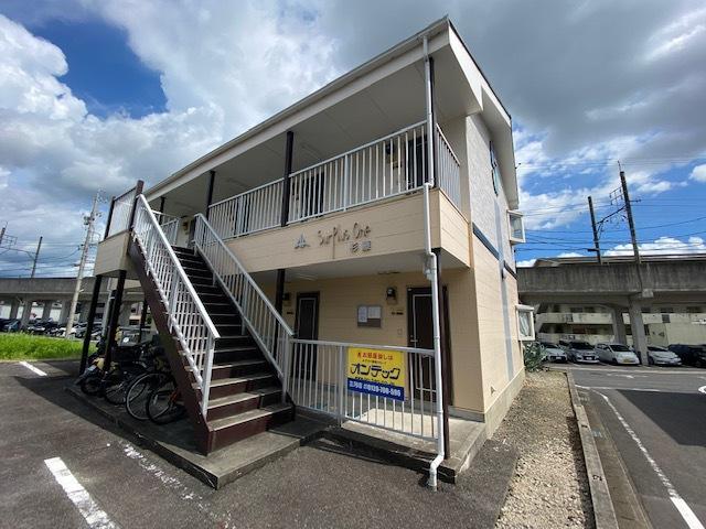 愛知県豊田市、梅坪駅徒歩9分の築21年 2階建の賃貸アパート