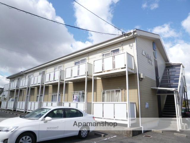 愛知県豊田市、竹村駅徒歩9分の築23年 2階建の賃貸アパート