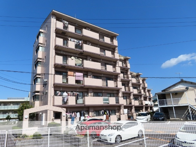 愛知県豊田市、豊田市駅徒歩13分の築23年 6階建の賃貸マンション