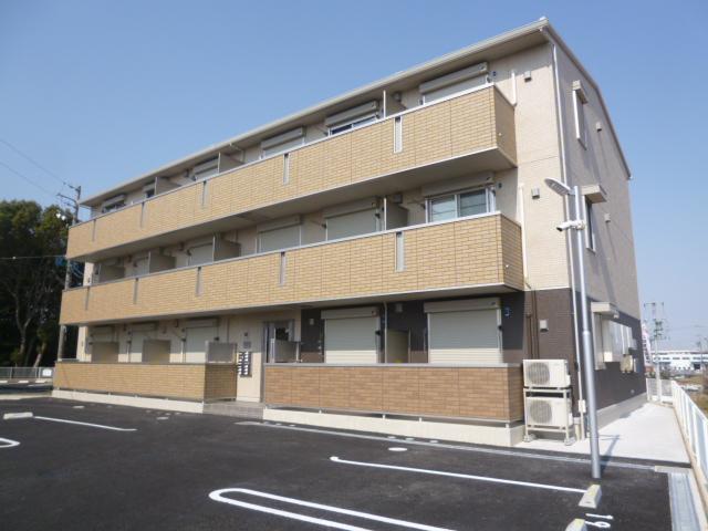 愛知県豊田市、若林駅徒歩46分の築2年 3階建の賃貸アパート