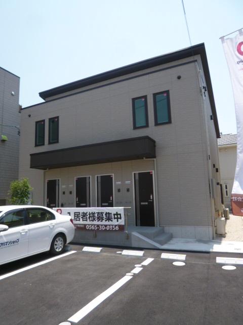 愛知県豊田市の築1年 2階建の賃貸アパート