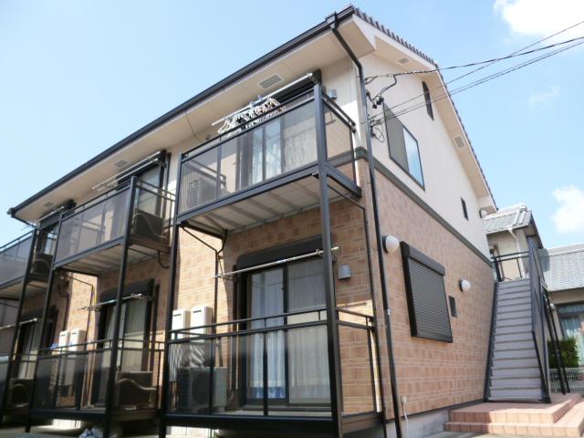 愛知県豊田市、豊田市駅徒歩14分の築11年 2階建の賃貸アパート