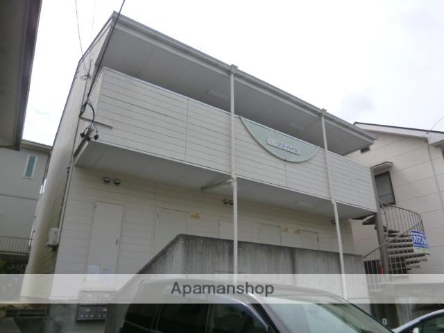 愛知県豊田市、三河豊田駅名鉄バスバス10分平和町下車後徒歩4分の築28年 2階建の賃貸アパート