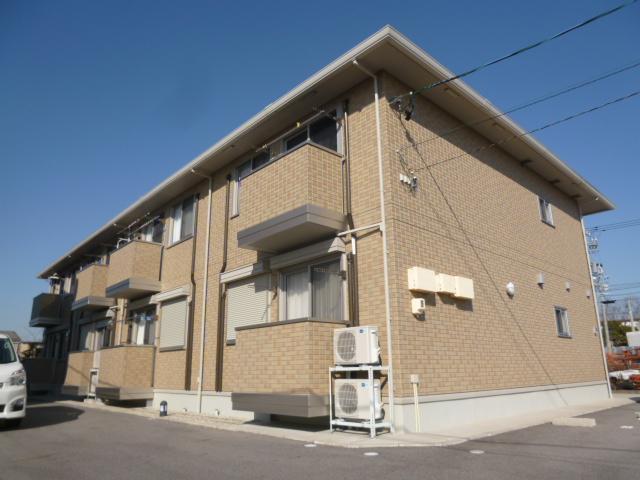 愛知県豊田市、北野桝塚駅徒歩21分の築8年 2階建の賃貸マンション