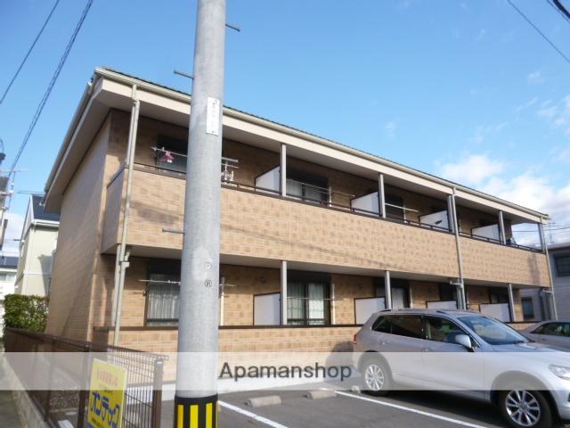 愛知県豊田市、上挙母駅徒歩3分の築8年 2階建の賃貸アパート