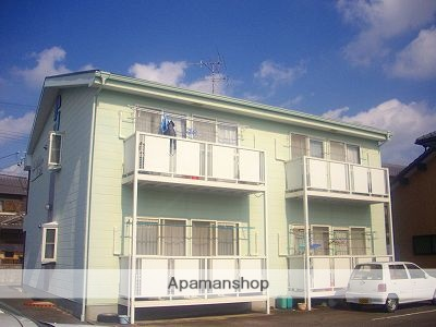 愛知県豊田市、三河上郷駅徒歩15分の築25年 2階建の賃貸アパート
