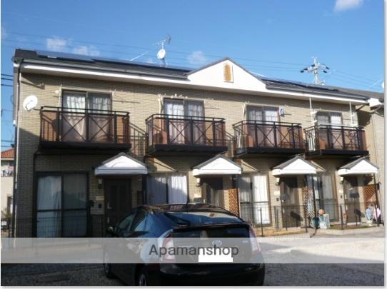 愛知県豊田市、上挙母駅徒歩8分の築15年 2階建の賃貸テラスハウス