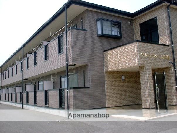 愛知県豊田市、浄水駅徒歩5分の築17年 2階建の賃貸アパート