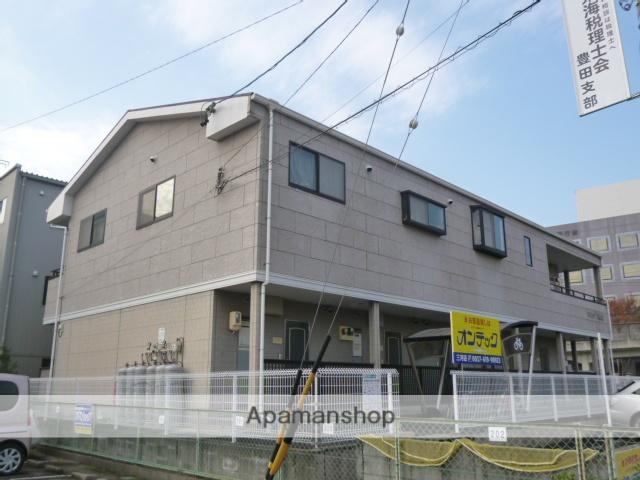 愛知県豊田市、上挙母駅徒歩9分の築23年 2階建の賃貸アパート