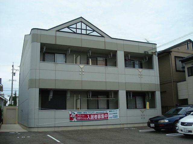 愛知県豊田市、土橋駅徒歩27分の築13年 2階建の賃貸アパート