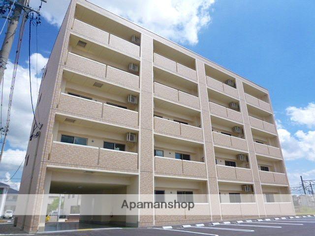 愛知県豊田市、上挙母駅徒歩4分の築4年 5階建の賃貸マンション