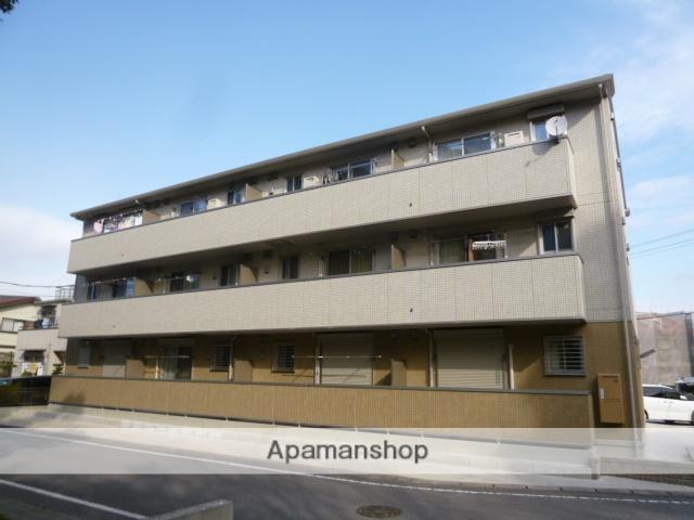 愛知県豊田市、豊田市駅徒歩40分の築4年 3階建の賃貸アパート