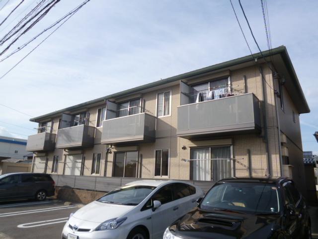 愛知県豊田市、豊田市駅徒歩26分の築11年 2階建の賃貸アパート