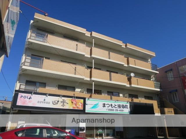 愛知県春日井市、高蔵寺駅徒歩15分の築29年 4階建の賃貸マンション