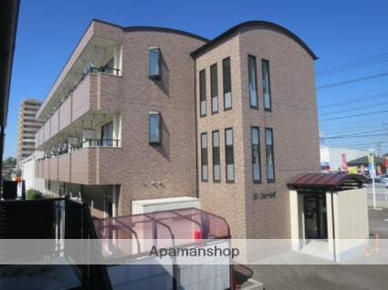 愛知県春日井市、高蔵寺駅徒歩18分の築18年 3階建の賃貸アパート