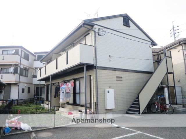 愛知県春日井市、春日井駅名鉄バスバス10分八田下車後徒歩5分の築21年 2階建の賃貸アパート