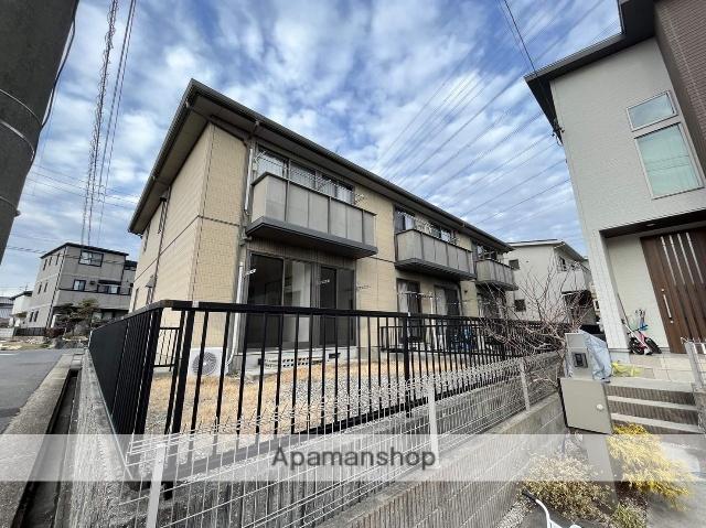 愛知県春日井市、神領駅徒歩15分の築17年 2階建の賃貸アパート