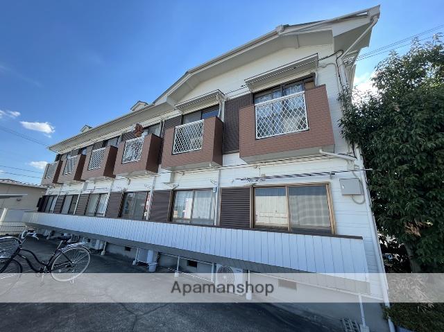 愛知県春日井市、高蔵寺駅徒歩23分の築26年 2階建の賃貸アパート
