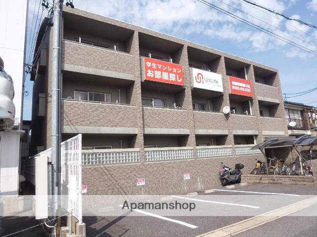 愛知県春日井市、春日井駅徒歩5分の築10年 3階建の賃貸マンション
