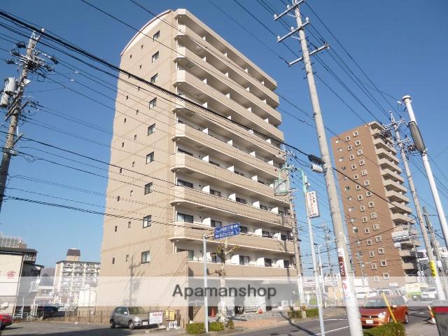 愛知県春日井市、春日井駅徒歩3分の築9年 10階建の賃貸マンション
