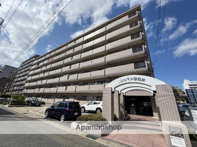 愛知県春日井市、春日井駅徒歩3分の築22年 7階建の賃貸マンション