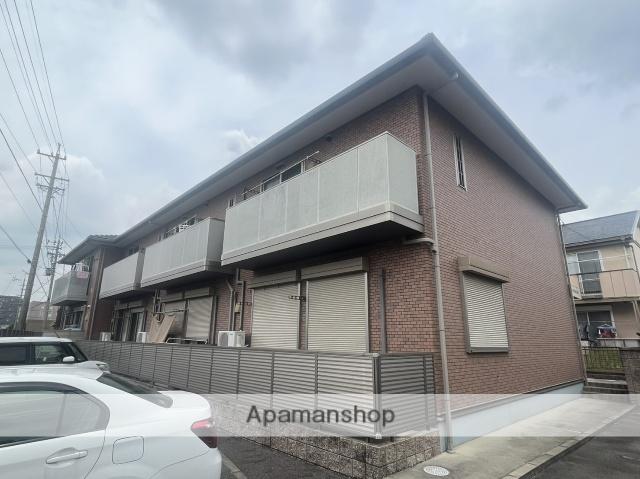 愛知県春日井市、高蔵寺駅徒歩17分の築10年 2階建の賃貸アパート