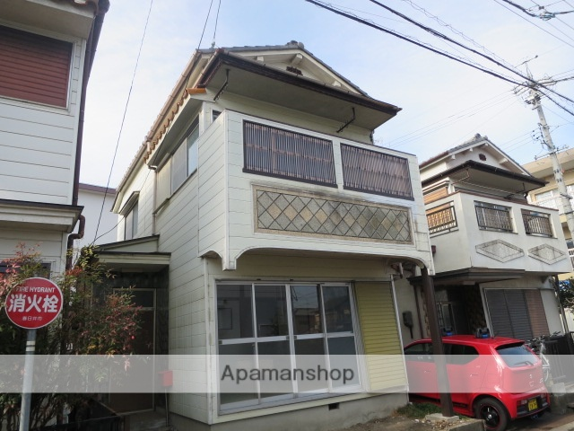 愛知県春日井市、春日井駅徒歩10分の築41年 2階建の賃貸一戸建て