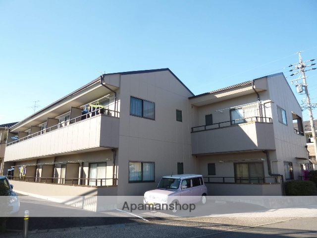 愛知県春日井市、神領駅徒歩10分の築28年 2階建の賃貸アパート