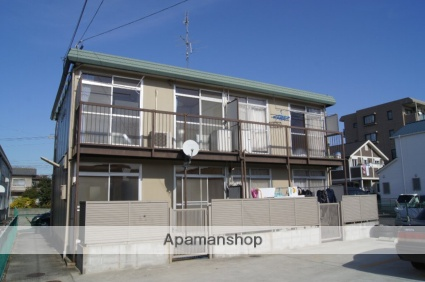 愛知県春日井市、高蔵寺駅徒歩14分の築38年 2階建の賃貸アパート