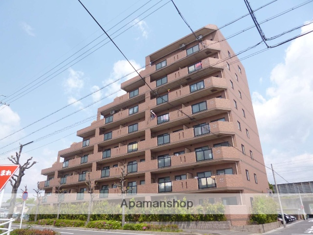 愛知県春日井市、神領駅徒歩9分の築18年 8階建の賃貸マンション