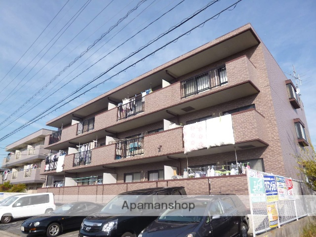 愛知県春日井市、春日井駅徒歩13分の築21年 3階建の賃貸マンション