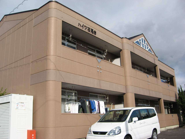 愛知県春日井市、高蔵寺駅名鉄バスバス14分石尾台3丁目下車後徒歩1分の築22年 2階建の賃貸マンション