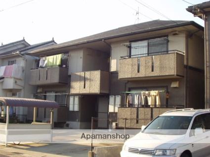 愛知県春日井市の築22年 2階建の賃貸アパート