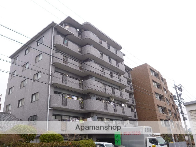 愛知県春日井市、春日井駅徒歩8分の築23年 7階建の賃貸マンション