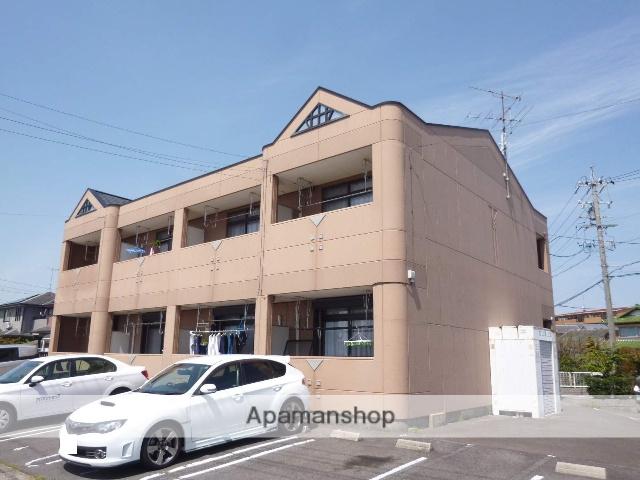 愛知県春日井市、高蔵寺駅徒歩15分の築20年 2階建の賃貸アパート