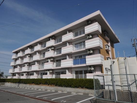 愛知県岡崎市、岡崎駅徒歩7分の築31年 4階建の賃貸マンション