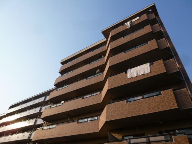 愛知県一宮市、名鉄一宮駅徒歩23分の築17年 7階建の賃貸マンション