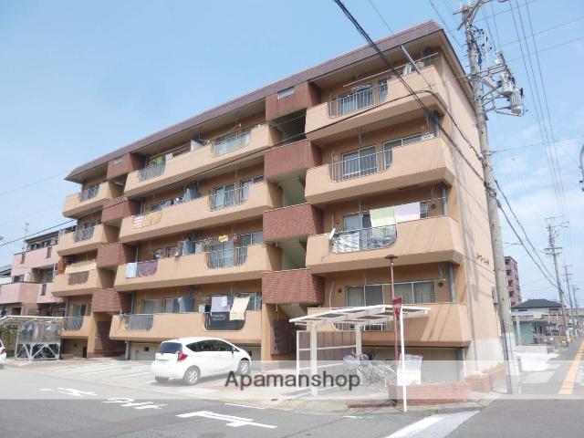 愛知県一宮市、尾張一宮駅徒歩13分の築38年 4階建の賃貸マンション
