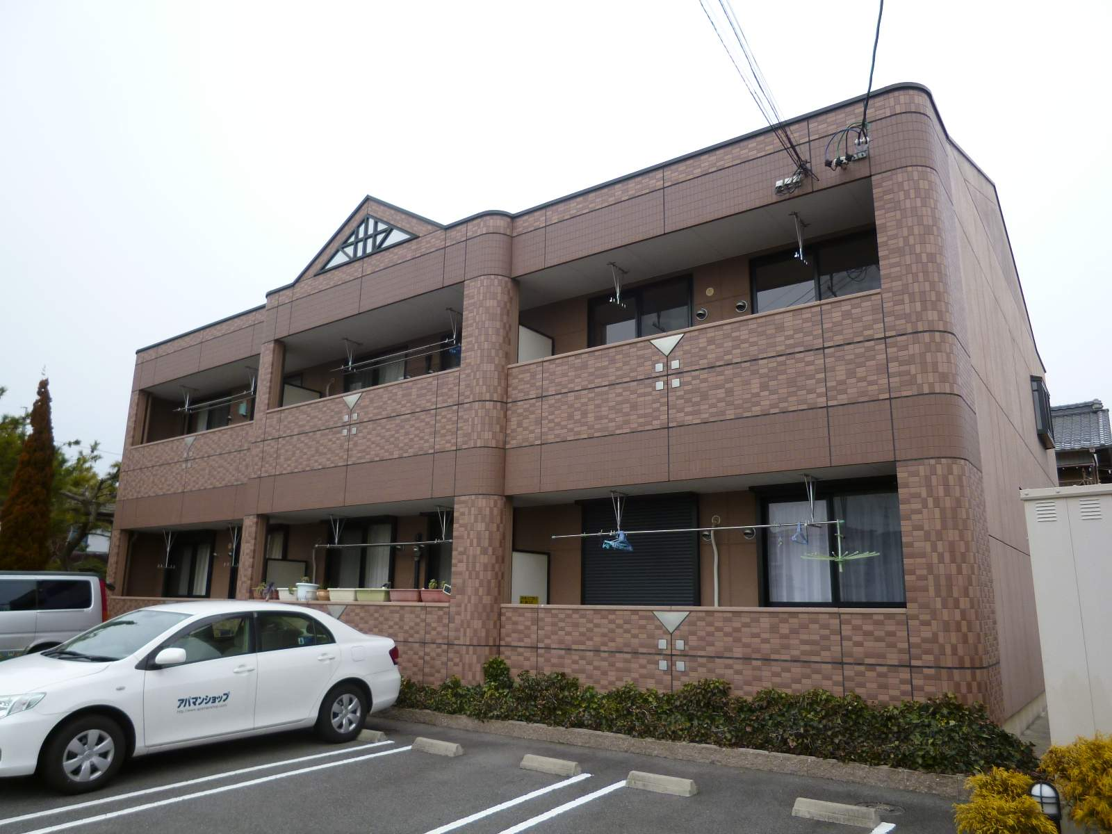 愛知県一宮市、尾張一宮駅徒歩22分の築12年 2階建の賃貸アパート