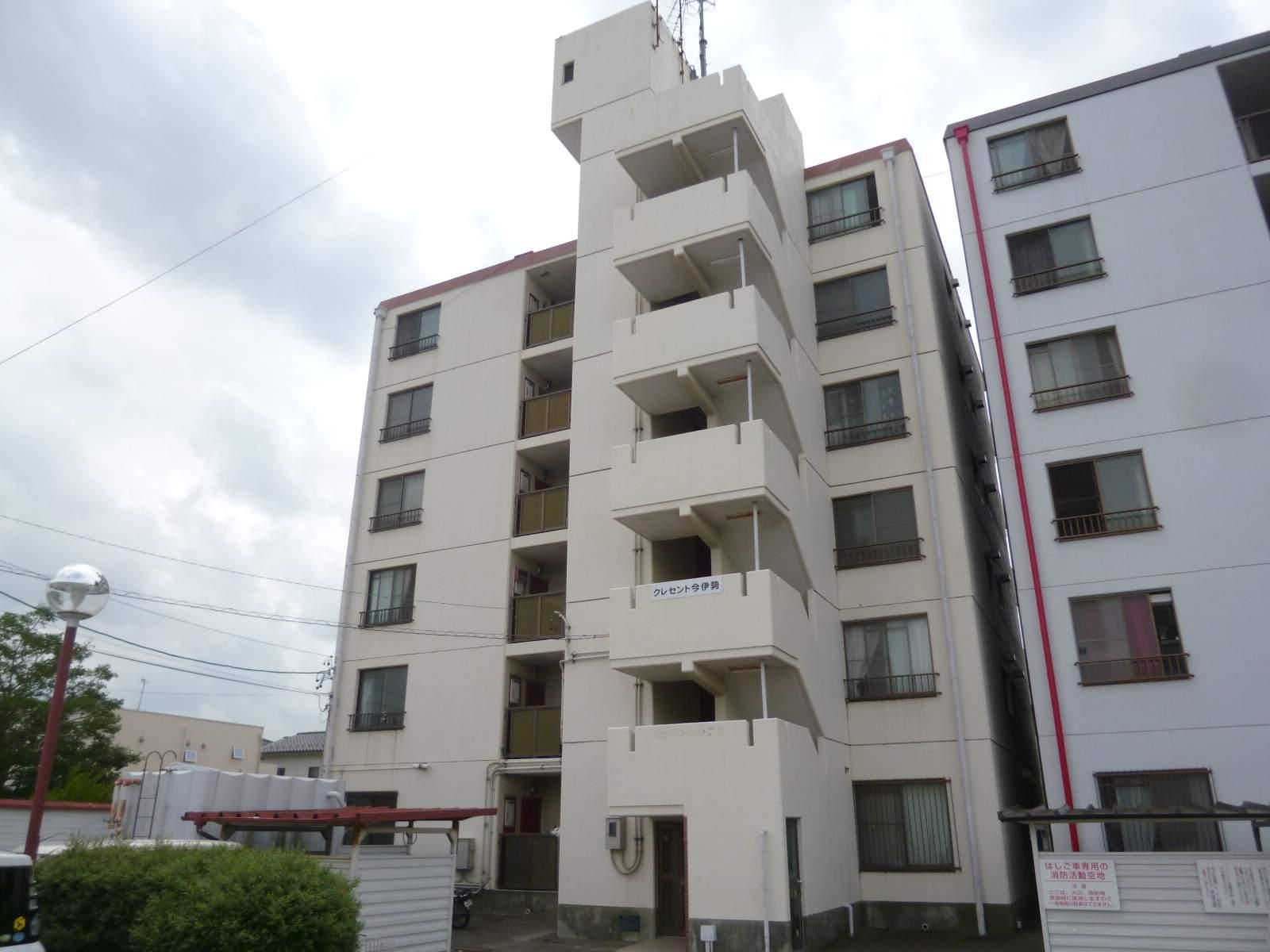 愛知県一宮市、尾張一宮駅徒歩28分の築34年 6階建の賃貸マンション
