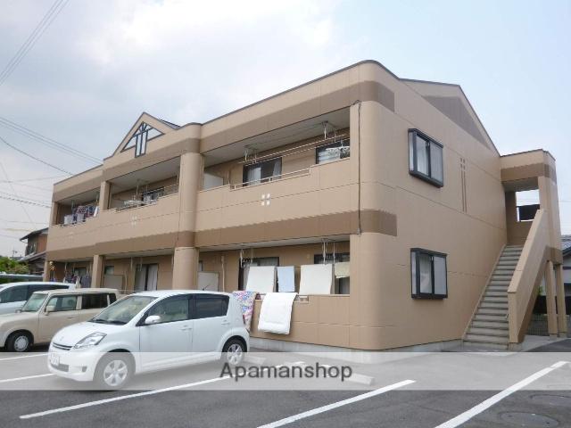 愛知県一宮市、尾張一宮駅バス38分芝原下車後徒歩6分の築16年 2階建の賃貸アパート