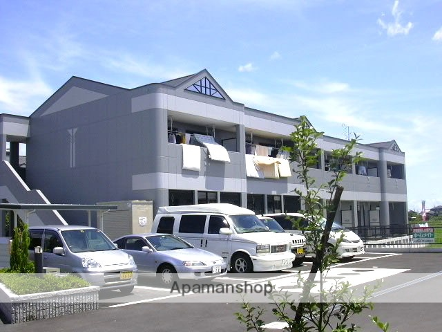 愛知県一宮市、尾張一宮駅名鉄バスバス16分起下車後徒歩16分の築14年 2階建の賃貸マンション