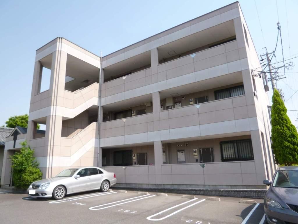 愛知県一宮市、尾張一宮駅名鉄バスバス19分光明寺下車後徒歩7分の築14年 3階建の賃貸マンション
