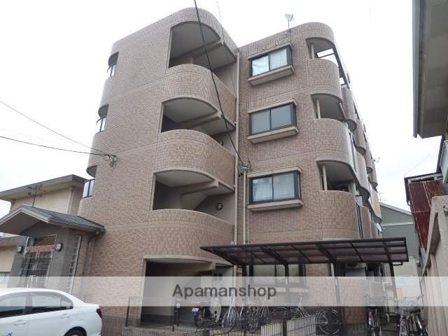 愛知県一宮市、尾張一宮駅徒歩13分の築18年 4階建の賃貸マンション