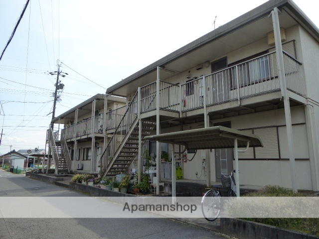 愛知県一宮市、石刀駅徒歩52分の築20年 2階建の賃貸アパート