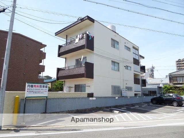 愛知県一宮市、名鉄一宮駅徒歩7分の築44年 3階建の賃貸マンション