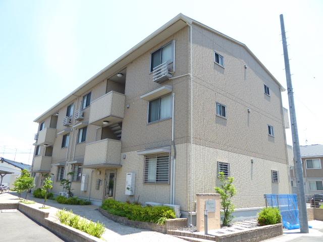 愛知県一宮市、今伊勢駅徒歩2分の築7年 3階建の賃貸マンション